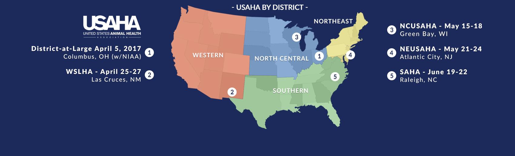 USAHA District Meetings